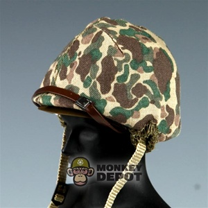 Helmet Dragon US WWII M1 USMC Camo Covered RTV Version