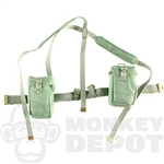 Belt Dragon British WWII Universal Pouches, Harness, Green