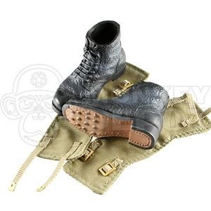 Boots Dragon British WWII Ammo Boots Tropical Gaiters
