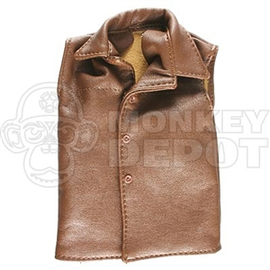 Vest Dragon British WWII Leatherlike Jerkin Collar