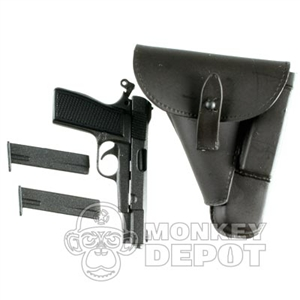 Pistol Dragon 640b Hi Power Dark Brown Holster