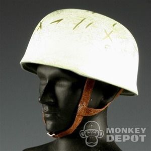 Helmet: Dragon German WWII Fallshirmjager White Camo