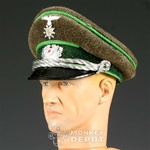 Hat: Dragon German WWII Gebirgsjager Officer Visor