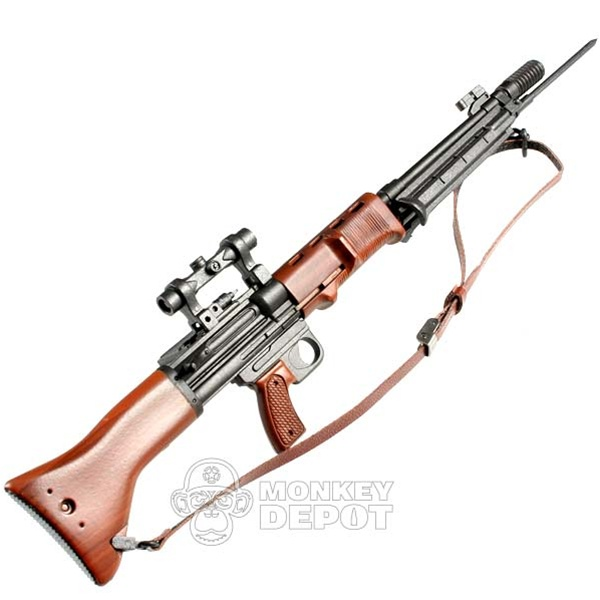 Rifle: Toys City German WWII FG42 Second Model