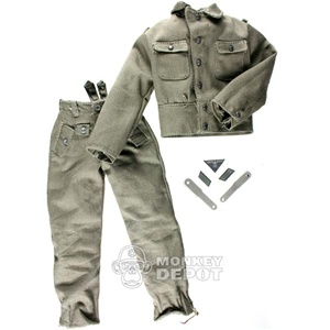 Uniform: Dragon German WWII M44 Heer w/Insignia