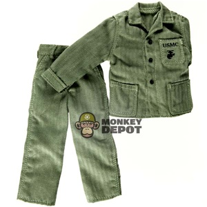 Fatigues: Dragon US WWII USMC M1941 HBT