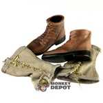 Boots: Dragon US WWII USMC Boondockers w/Leggings
