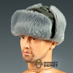 Hat: Dragon German WWII Winter Fur Flap