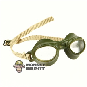 Goggles: Dragon German WWII Luftwaffe Green