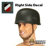 Helmet: Dragon German WWII Fallschirmjager Gray