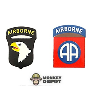 Insignia: Dragon US WWII 82nd + 101st Airborne (Iron On)