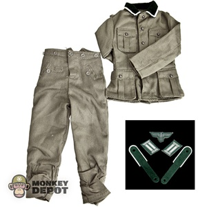 Uniform: Dragon German WWII M36 Heer NCO