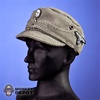 Hat: Dragon German WWII M43 SS Gray w/Insignia