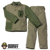 Uniform: Dragon US WWII USMC M1941 HBT Utility Uniform