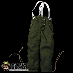 Pants: Dragon German WWII Winter Overtrousers Filed Gray Reversible