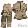 Uniform: Dragon US WWII M42 Airborne Rigger Modified
