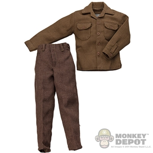 Uniform: Dragon US WWII Wool Service