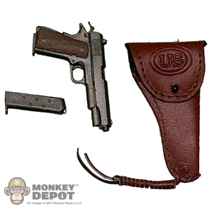Pistol: Dragon US WWII 1911 .45 Leatherlike Holster