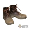 Boots: Dragon US WWII Service Shoes Weathered