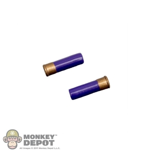 Ammo Dragon 12ga Shotgun Shells Purple Pair