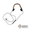 Radio Dragon US WWII Headphones w/Leather Cover