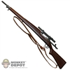 Rifle: Dragon US WWII Springfield 1903A4 Sniper Scope