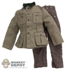 Uniform: Dragon German WWII M36 NCO w/Shoulder Boards