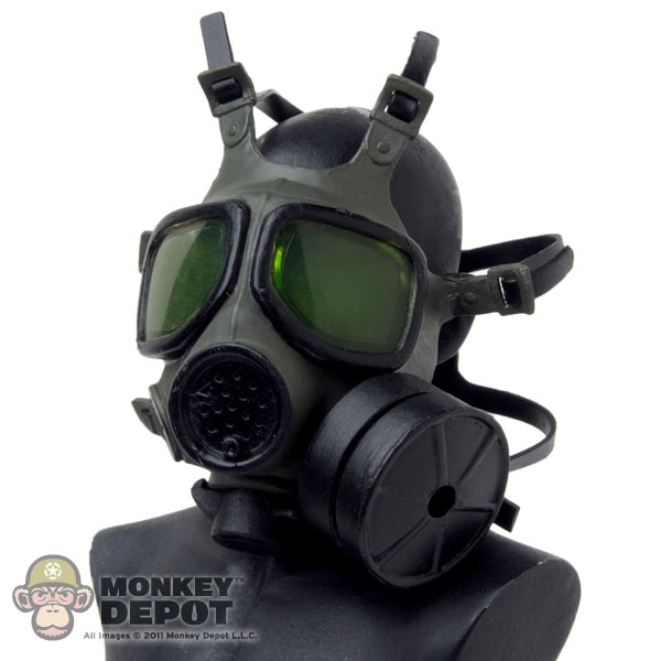 Monkey Depot Gas Mask Dragon Us Modern Fr M40 Yellow Tint