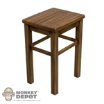 Chair: Dragon Woodlike Stool/Table