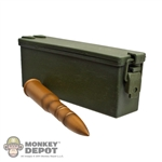 Ammo: Dragon 37mm Ammo Can w/Round (Plastic)