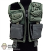 Vest: Dragon Green Military Vest