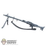 Rifle Dragon German WWII MG34 Whitewashed