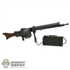Rifle: Dragon MG08 Machine Gun w/Belt Drum & Ammo Box