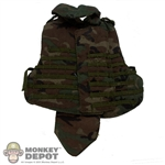Vest: Dragon US Modern Interceptor Woodland