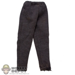 Pants: Dragon Hooded Sweatpants Grey