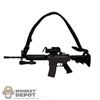 Rifle Dragon M4 R.I.S. Submachine Gun w/ Infrared Marker