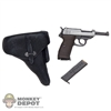 Pistol Dragon German WWII Luger  black holster