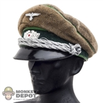 Hat: Dragon German WWII Officer Visor