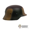Helmet: Dragon German M42 Helmet w/Camo Painting (Metal)