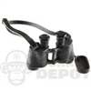 Binoculars: Dragon Russian WWII Black Leatherlike Strap