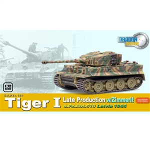 Dragon Armor 1/72 Tiger I Late Production (60544)