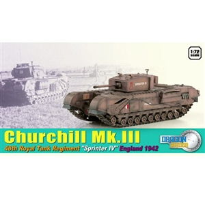 Dragon Armor 1/72 Churchill Mk.III (60591)