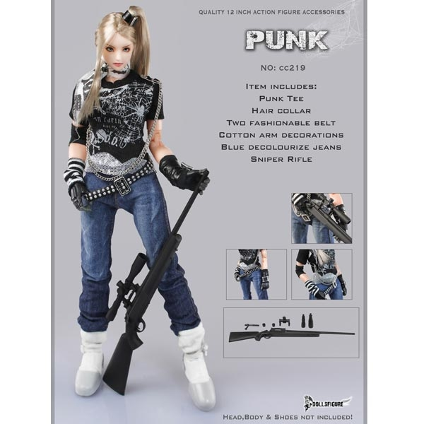 Monkey Depot - Uniform Set: Flirty Girl Denium Clothing