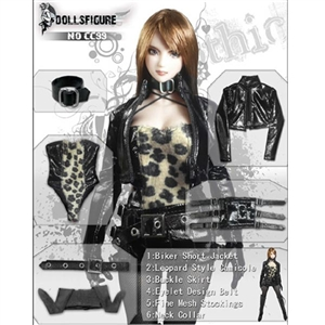 Clothing Set: Dollsfigure Leopard Clothing Set (CC99)