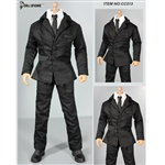 Clothing Set: Dollsfigure Black Men's Suit (CC213)