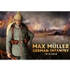 Boxed Figure: DiD Max Muller WWI German Infantry (D11002)