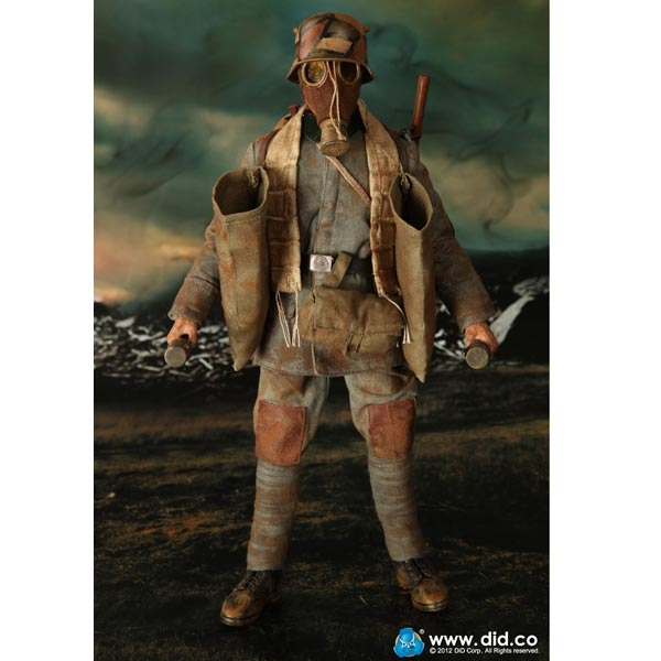 Monkey Depot - Boxed Figure: TiTToys WWII German Head Of