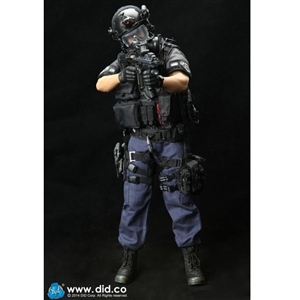 Boxed Figure: DiD LAPD SWAT Assaulter - Driver ( MA1001)