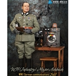 Boxed Figure: DiD WWII German Communications Set 1 Major Achbach (D80096)