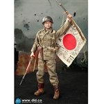 Boxed Figure: DiD WWII US Army 77th Infantry Division Captain Sam (80129)